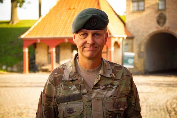 LRGNE: Morten Rask, Chefen for SSR, udnævnt til major.